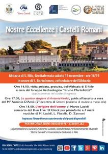 Nostre Eccellenze i Castelli Romani